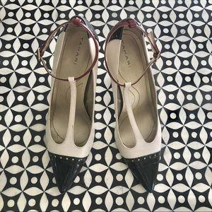Tahari, Belinda, T-Strap Oxford Heels